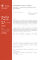 Crowdfunding – hrvatska pravna perspektiva i usporedba s drugim izvorima financiranja