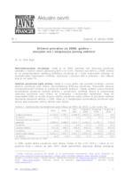 Državni proračun za 2008. godinu - socijalni mir i ekspanzija javnog sektora